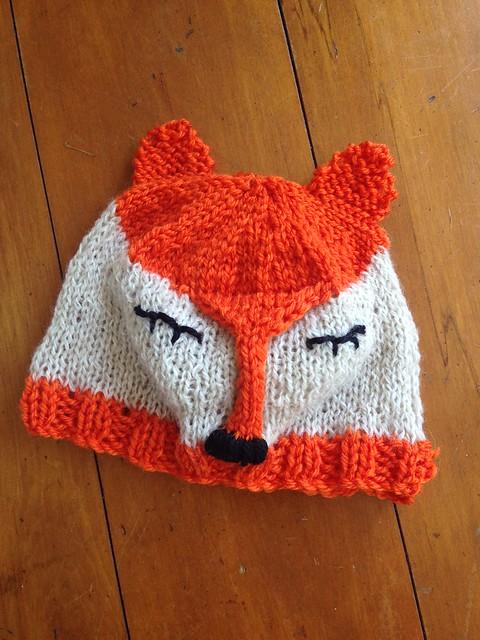 Fox Tea Cozy - FREE PATTERN