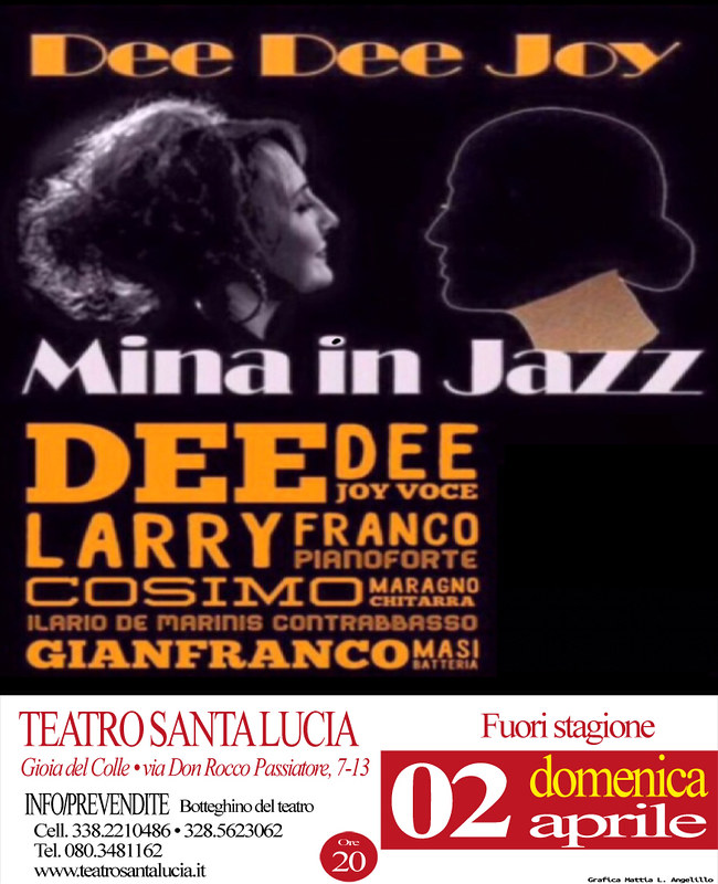 MINA IN JAZZ AL SANTA LUCIA