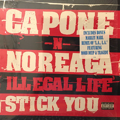 CAPONE-N-NOREAGA:ILLEGAL LIFE(JACKET A)