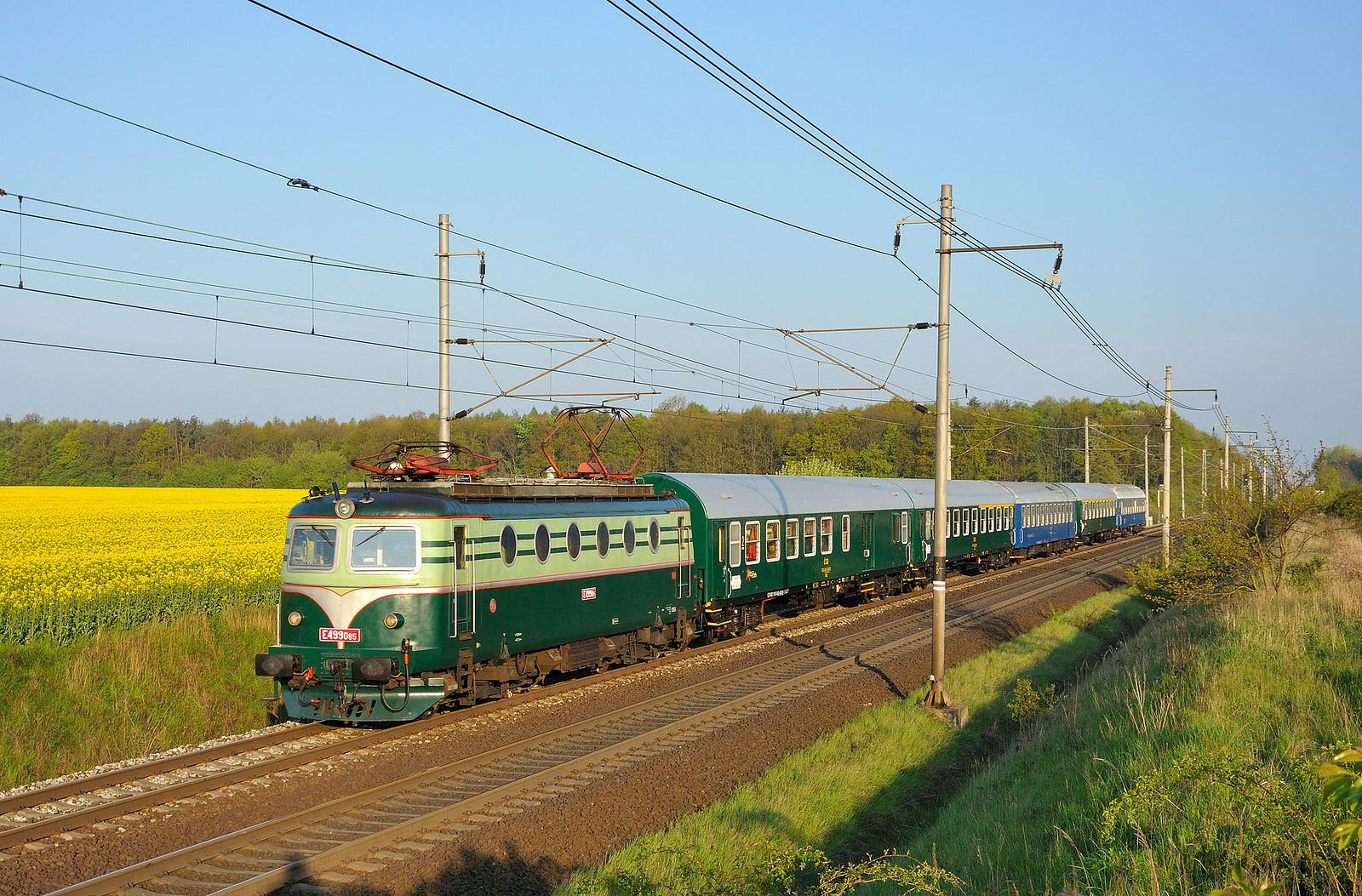 E499.085 ČSD, Ex 10005, Tatce, 1.5.2017