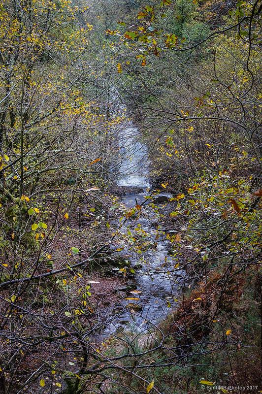 La Cascada de Xorroxin entre la vegetación