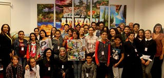 Visit of students from Cite Salama School