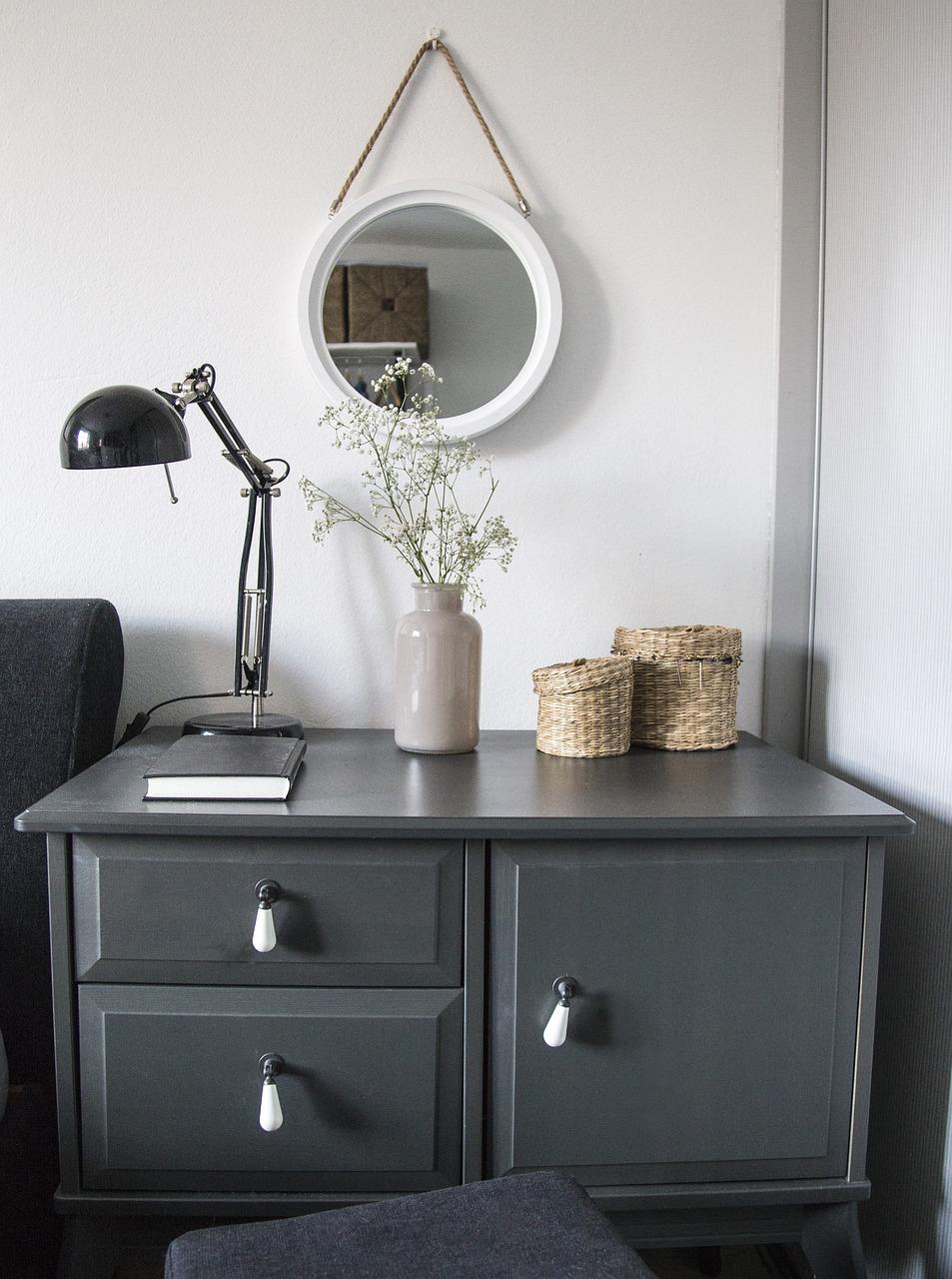 Bed Bedroom Vase Furniture Interior Room Home