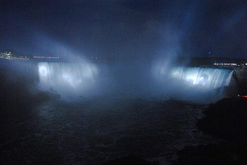 Horseshoe Falls Illuminated