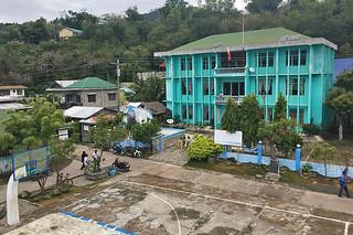 Sibale island - Poblacion Municipal building