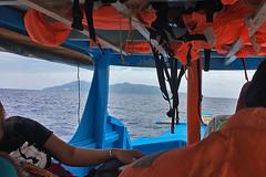 Sibale island - 1 hour to go