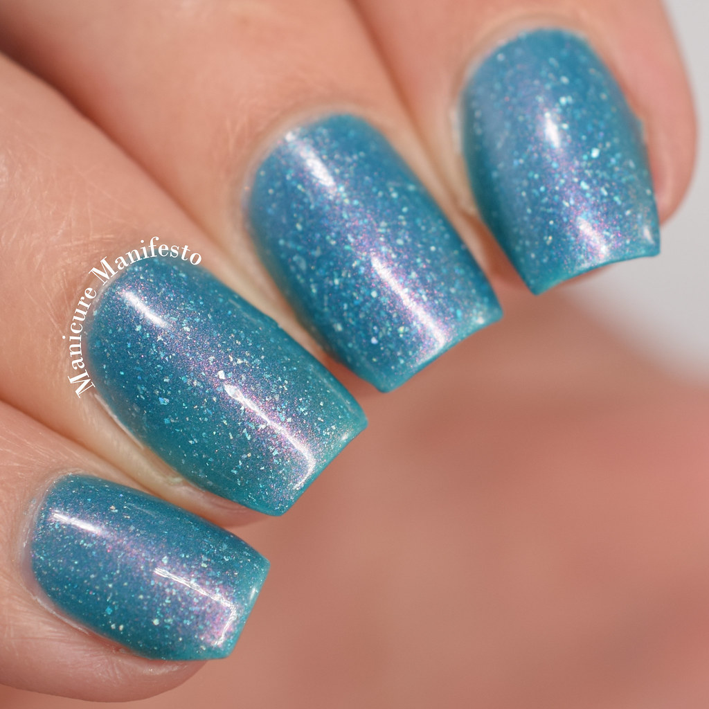 Femme fatale rockpool whorl swatch