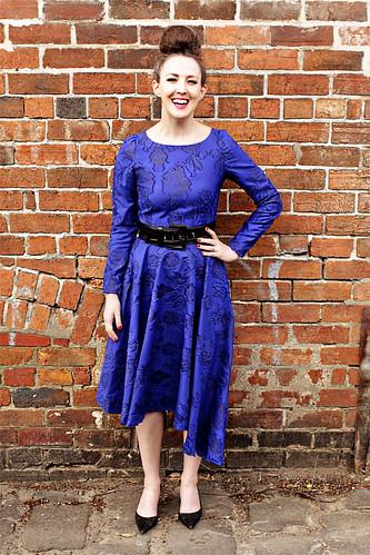 Blue Dress #4