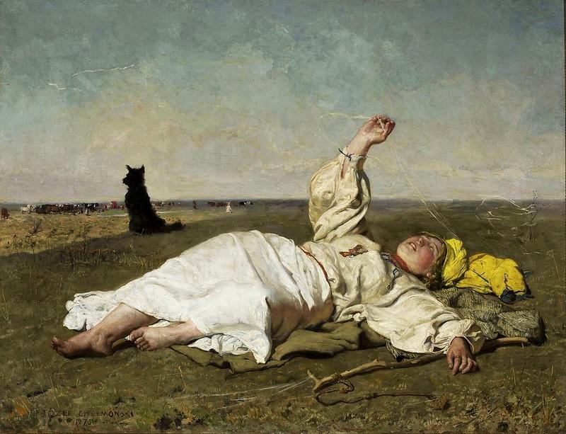 Jozef Chelmonski - Indian summer (1875)