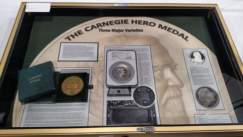 Carnegie Hero Medal exhibit