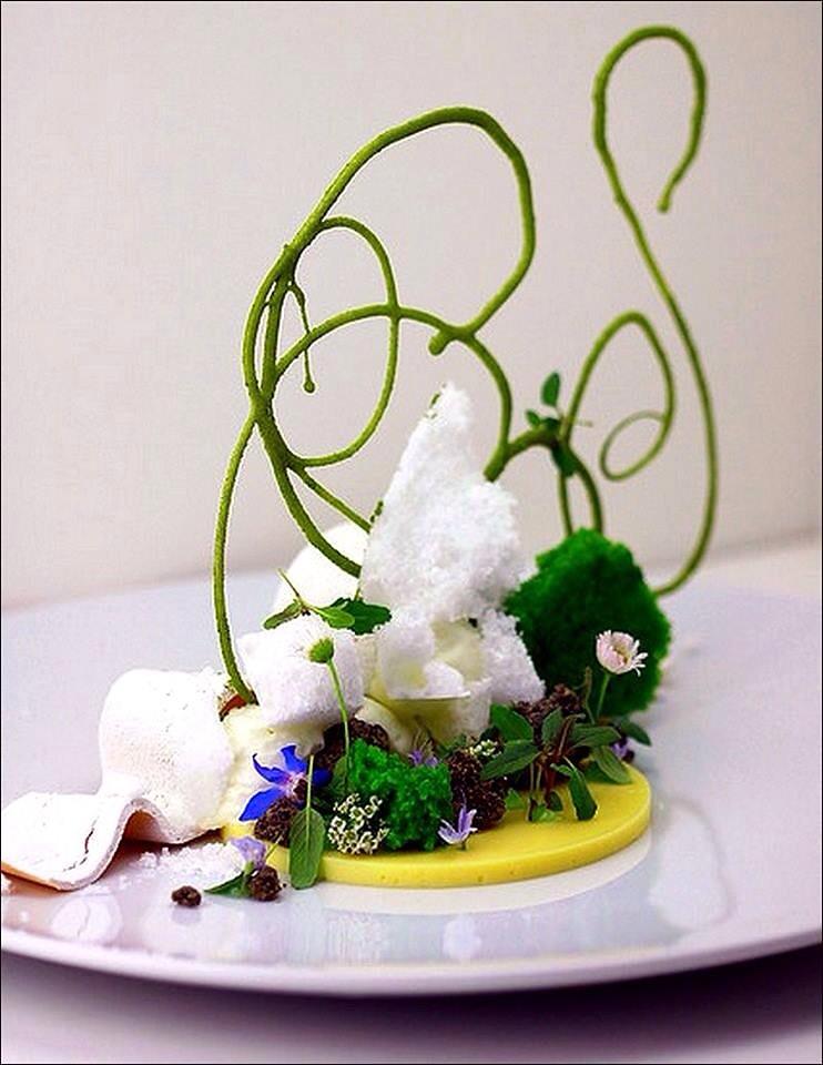 Visions gourmandes arabesques de mon jardin de la for Mon jardin 3d