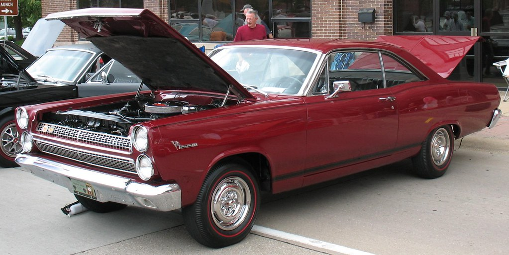 1967 Mercury Comet Cyclone Gt Powered By A 390 High