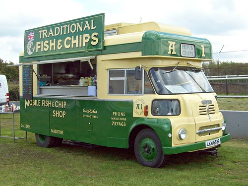 271 Austin S200 (Fish + Chip) Van (1967) | Austin S200 (Fish… | Flickr