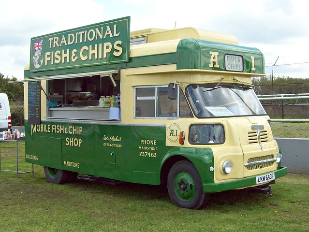 271 Austin S200 (Fish + Chip) Van (1967) | Flickr - Photo Sharing!