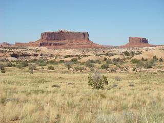20 Weg naar Canyonlands