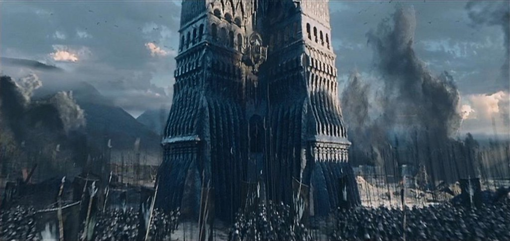 isengard the lord of the rings the two towers 2002