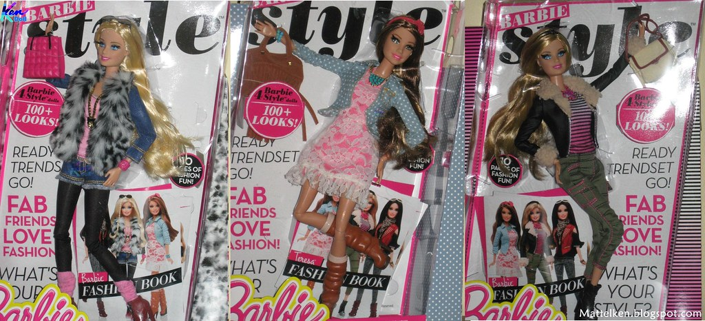 Barbie Glamour Luxury Fashion 2014 Barbie Doll And Her
