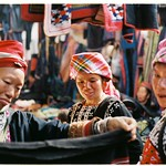 Red Dao women @ Sapa