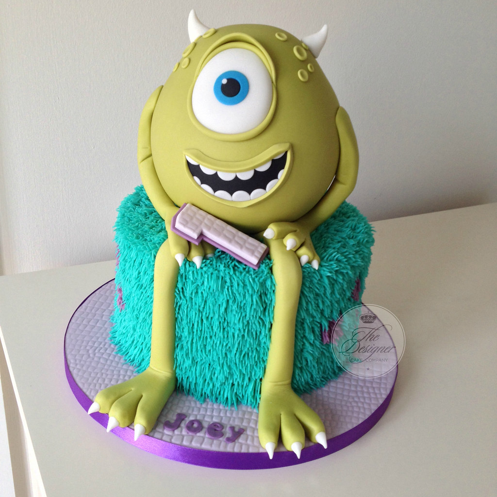 Monsters Inc 1st Birthday Cake Isabelle Bambridge Flickr