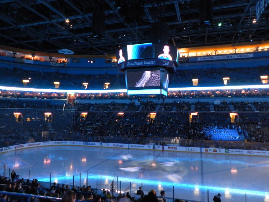 Scottrade Center St Louis Blues Vs Ottawa Senators