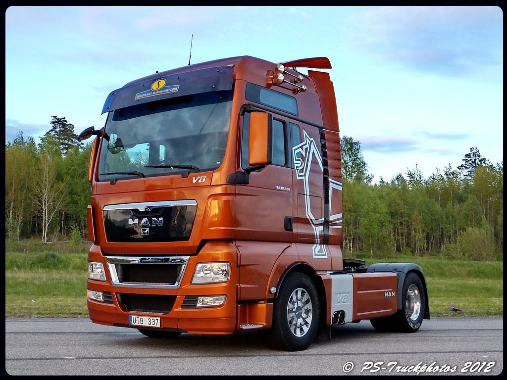 Man Tgx 18 680 V8 Xxl Asg Sweden Ps Truckphotos