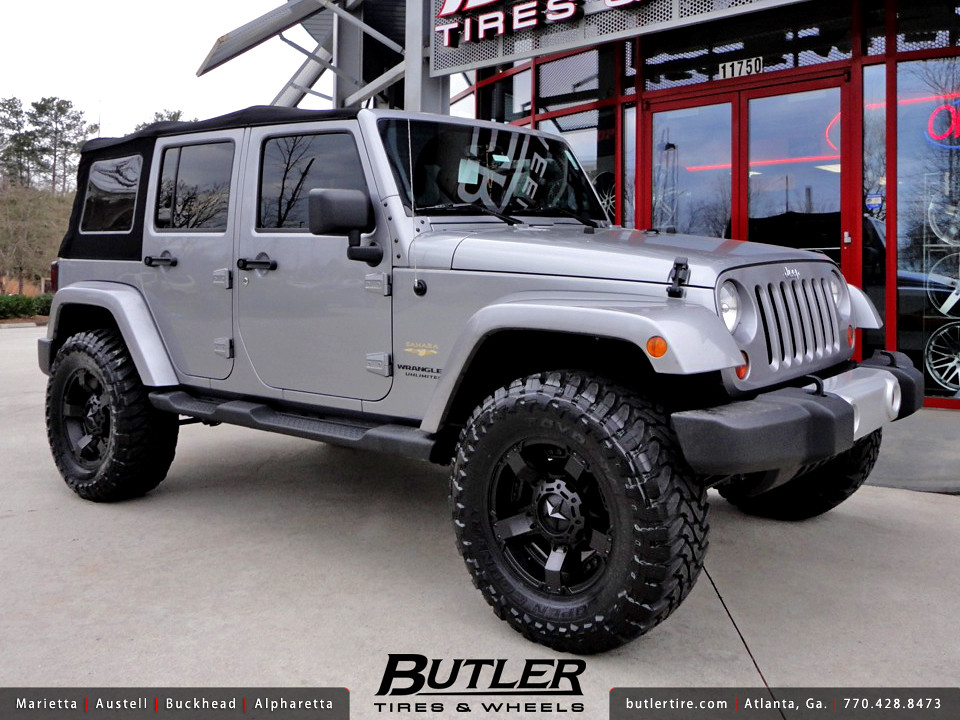 Jeep Wrangler With 18in Xd Rockstar 2 Wheels Additional
