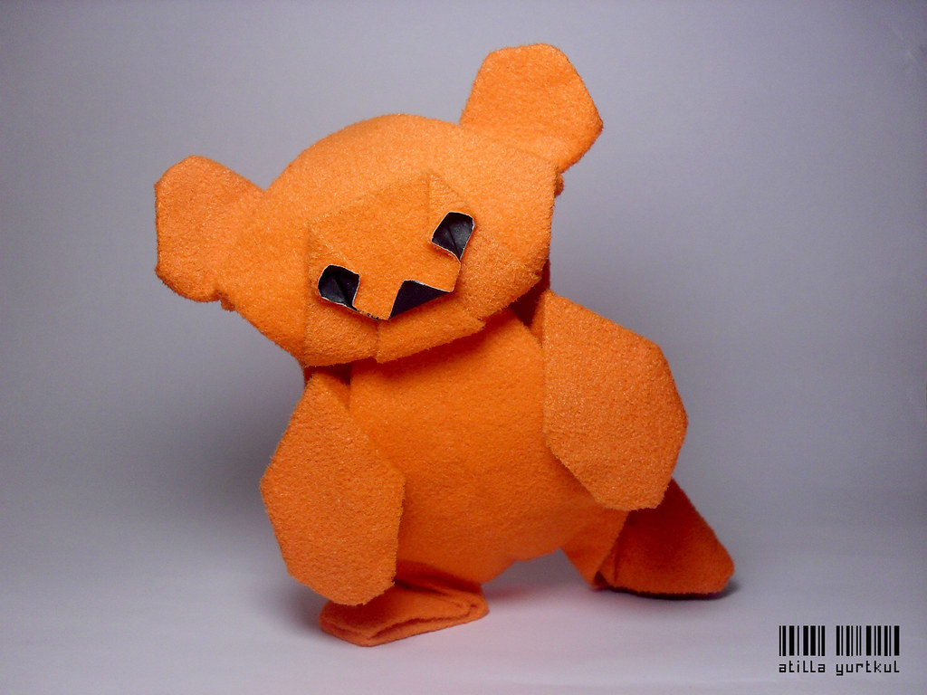 How To Make Origami Teddy Bear Step By Step