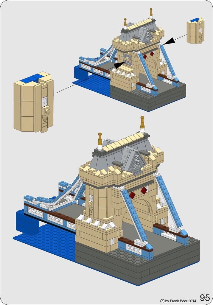 auszug aus dem bauplan von frank boor lego tower bridge. Black Bedroom Furniture Sets. Home Design Ideas