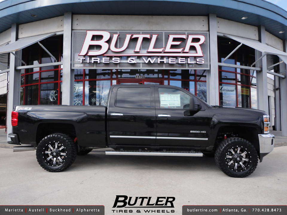 Chevy 2500HD with 20in Fuel Nutz Wheels   Additional ...