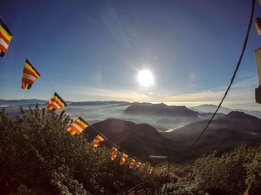 Adam's Peak (Sri Pada) in Sri Lanka