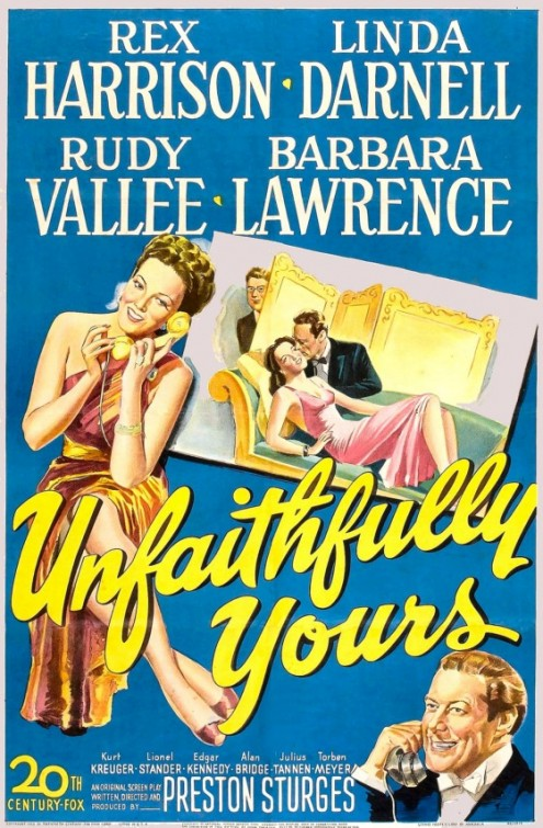 Unfaithfully Yours - 1948 - Poster 1