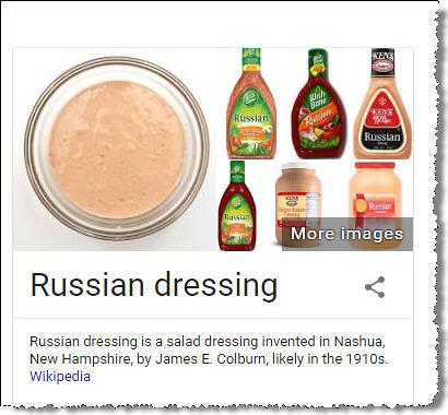 russian dressing