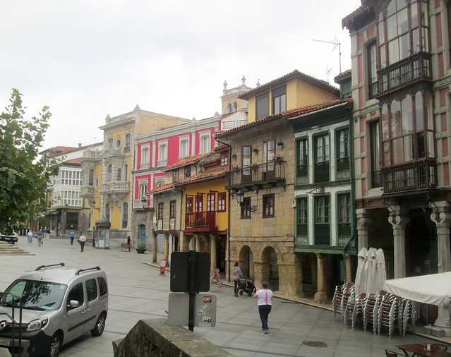 An Old Street in Avilés