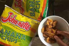 Sibale island - John-nette Banana Chips chips