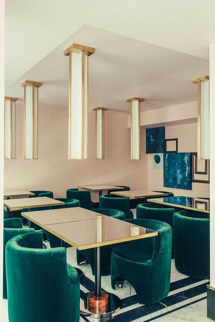 Elegant hotel Saint-Marc in Paris by the Milan design agency DIMORESTUDIO Sundeno_04