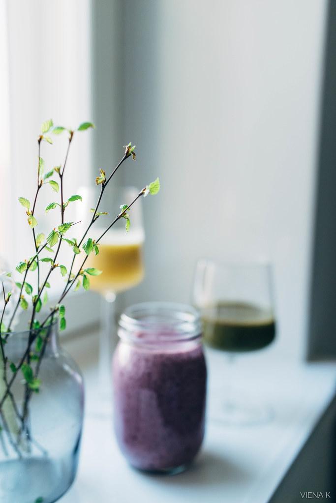 kolme hyvää tekevää smoothiereseptiä