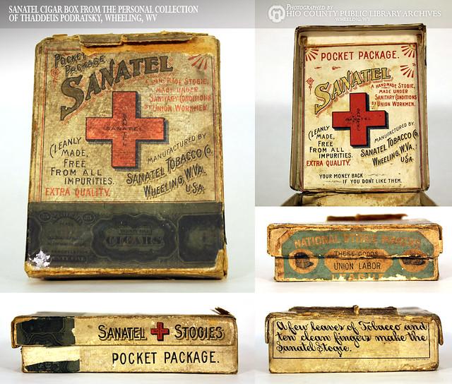 Sanatel Stogies Cigar Box