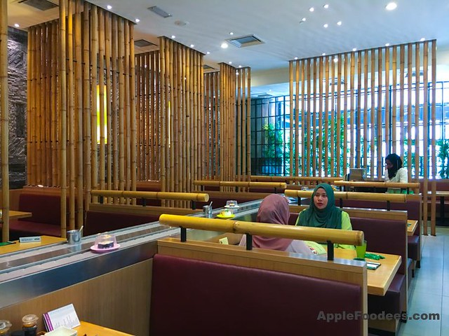 Sushi Tei Nu Sentral - Seating Area