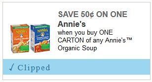 Annie's Organic Soup