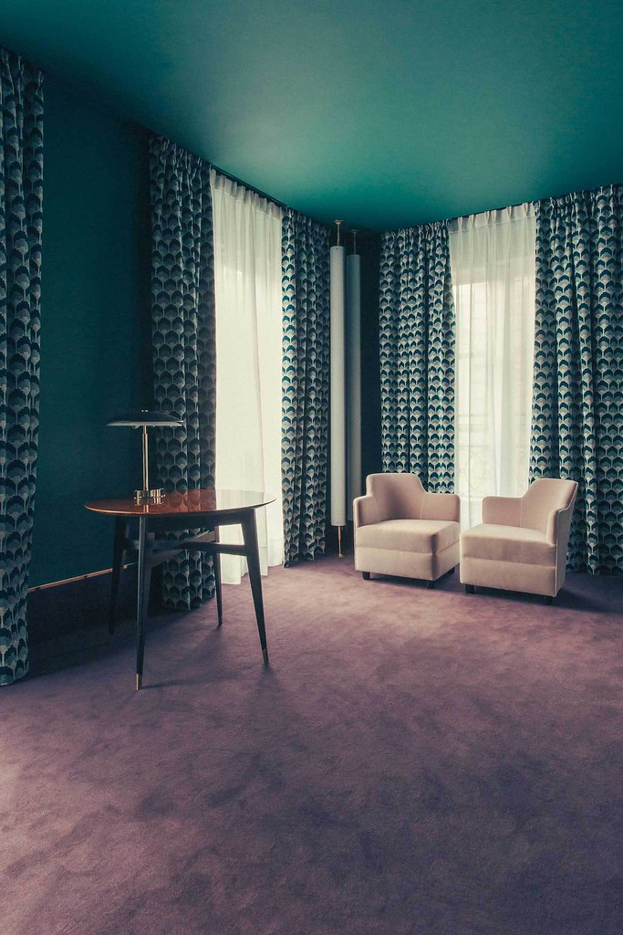 Elegant hotel Saint-Marc in Paris by the Milan design agency DIMORESTUDIO Sundeno_18