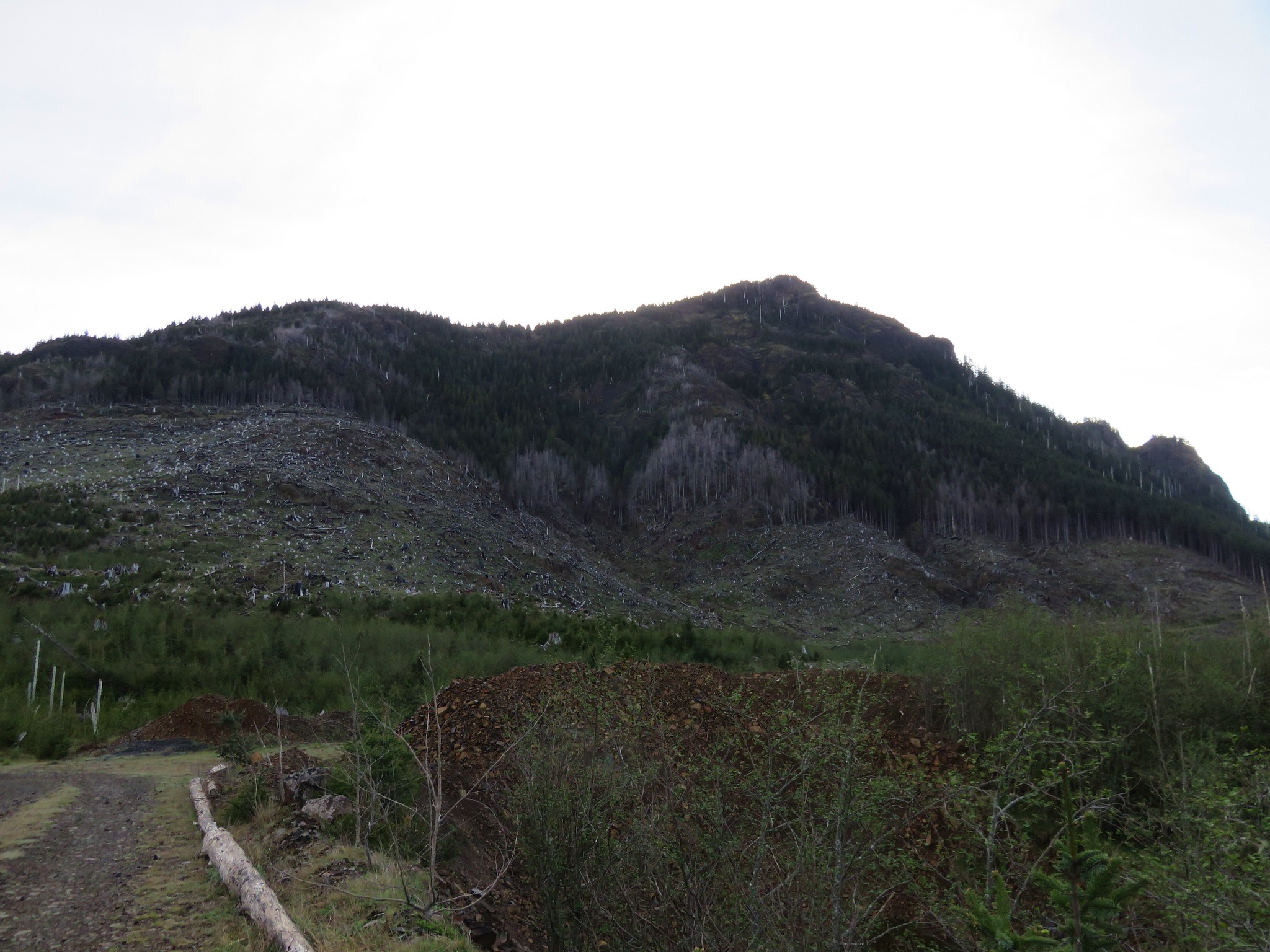 Quarry on the way to Angora Peak
