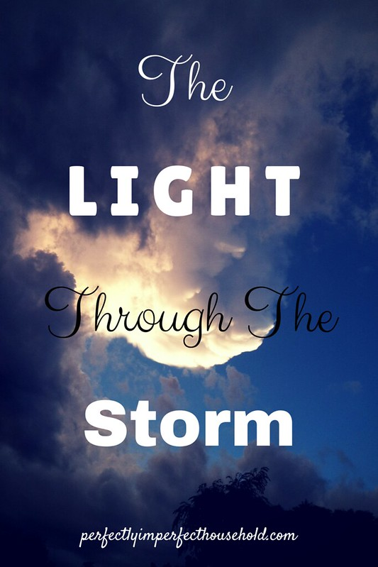Faith Journal on The Light Through The Storm