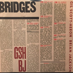 GIL SCOTT-HERON AND BRIAN JACKSON:BRIDGES(INNER 2)