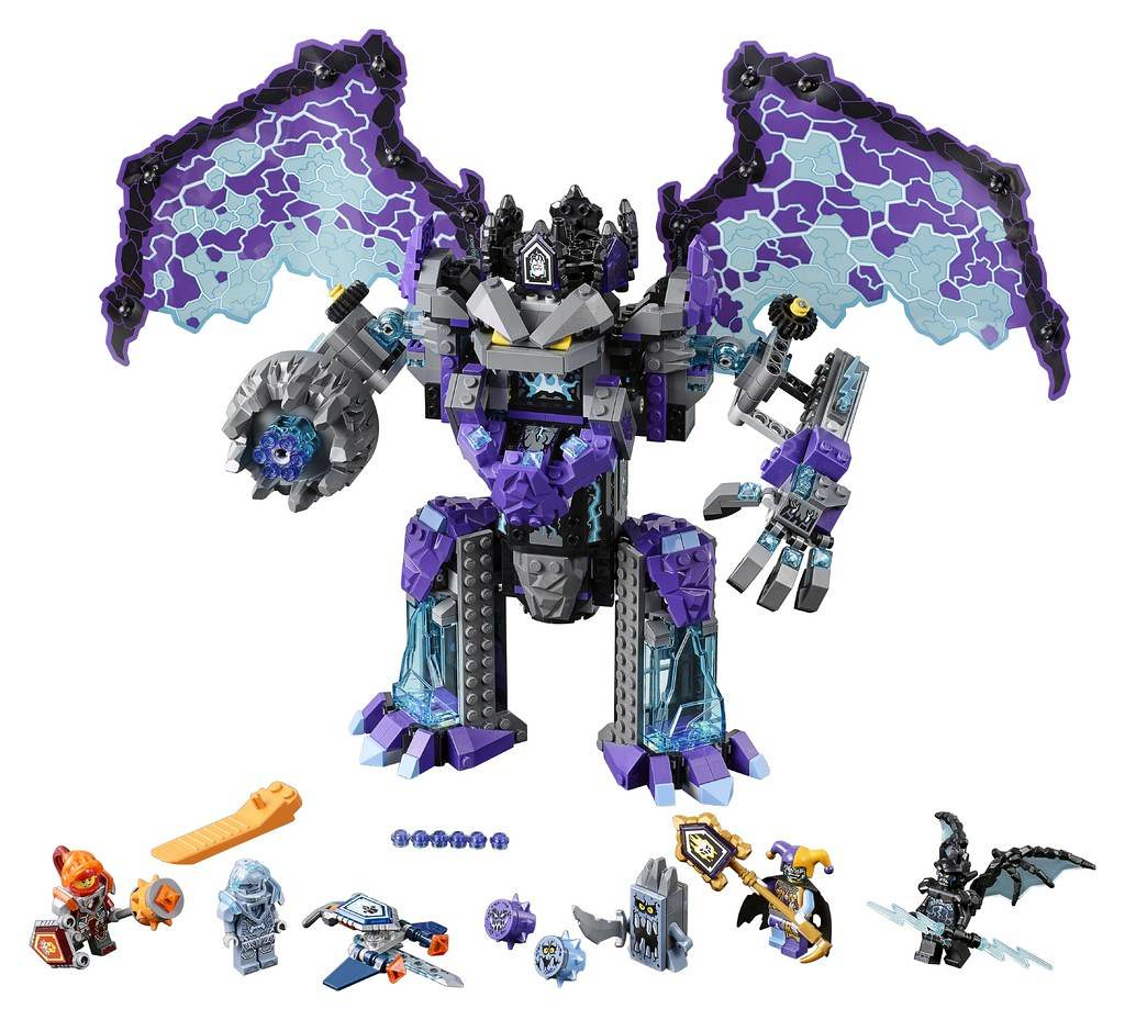 LEGO Nexo Knights 70356 - The Stone Colossus of Ultimate Destruction