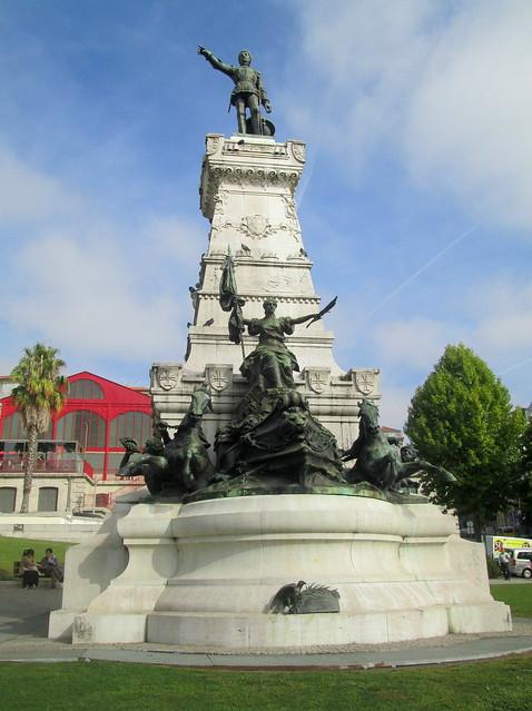 aStatue of Henry the Navigator, Porto