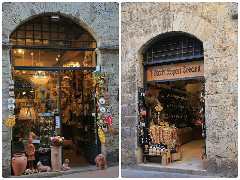 Shops, San Gimignano