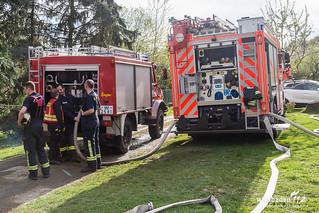 Waldbrand Rambach 12.04.17
