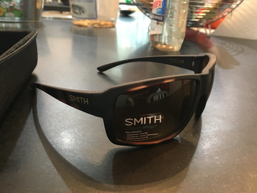 26dfab11f3 Smith Colson Sunglasses brand new never used with all packaging. Matte  Tortoise frame with brown Chroma pop lens.  120 shipped. SOLD
