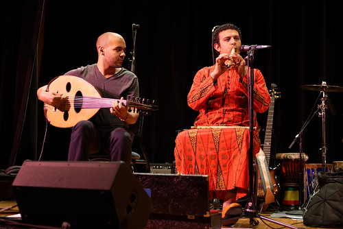 Mohamed Abozekry & Nader El Shaer with The Nile Project