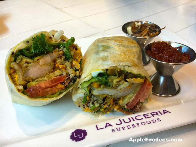 La Juiceria Superfoods at The Verve Shops - Nasi Lemak Wrap